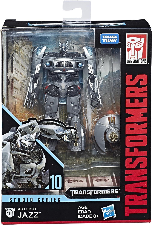 Transformers Generazioni di potenza dei numeri primi CLASSE Deluxe Autobot Jazz da Hasbro