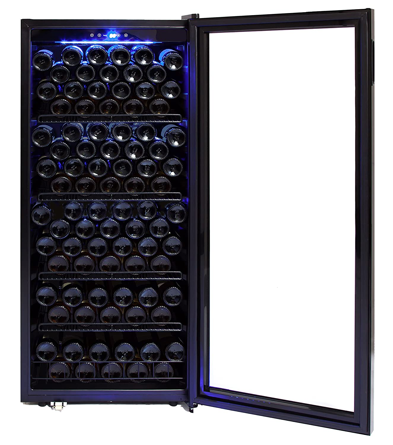 Amazon.com: Whynter FWC-1201BB 120 Bottle Freestanding Wine ...