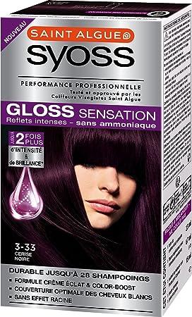 syoss gloss sensation coloration permanente 333 cerise noire 67 ml - Syoss Coloration Prix