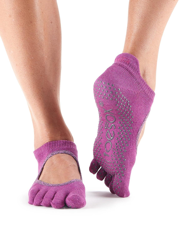Toesox Full Toe Bellarina Yoga Socks, Unisex Adult