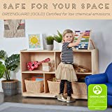 ECR4Kids Birch 5-Section School Classroom Storage