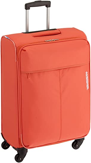 American Tourister Trolley semirrígido At Toulouse 2.0 M Coral 65.5 cm: Amazon.es: Equipaje