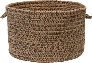 product image for Colonial Mills Hayward Utility Basket, 18 by 12-Inch, Mocha