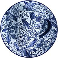 NGH Spring huaqiushi 8-Inch Blue and White Tableware