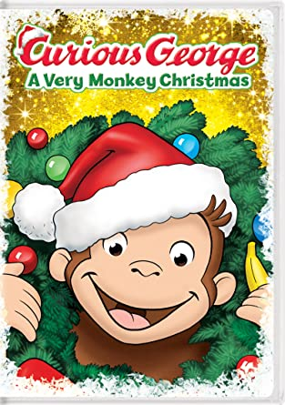 Amazon.com: Curious George: A Very Monkey Christmas: Frank Welker ...
