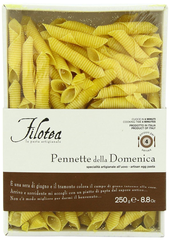 Filotea Pasta Pennette Della Domenica 250g Amazon De