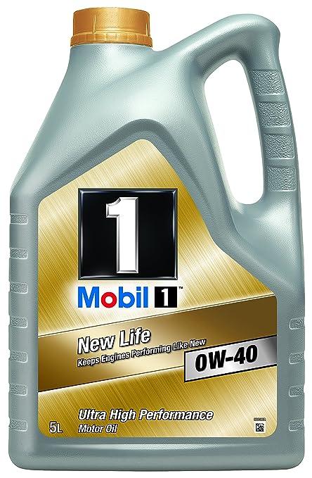 23 opinioni per Mobil 1 New Life 151048 0W40- Olio motore completamente sintetico, 5 l