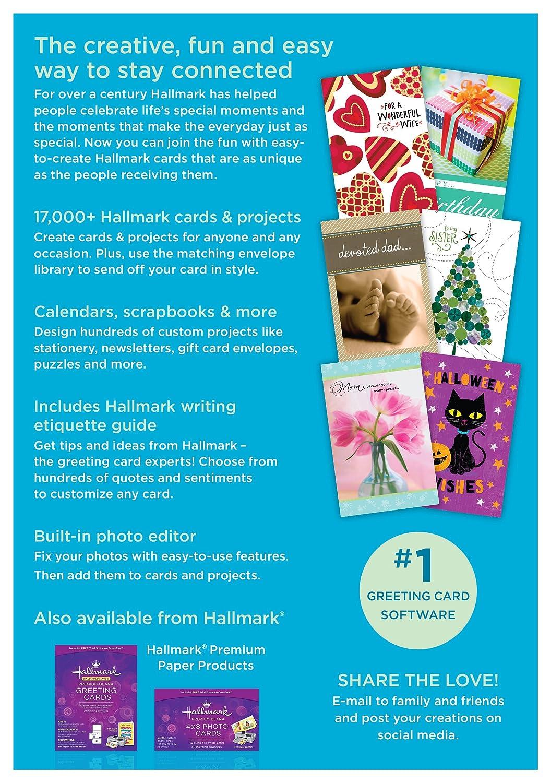 amazon com hallmark card studio deluxe 2017
