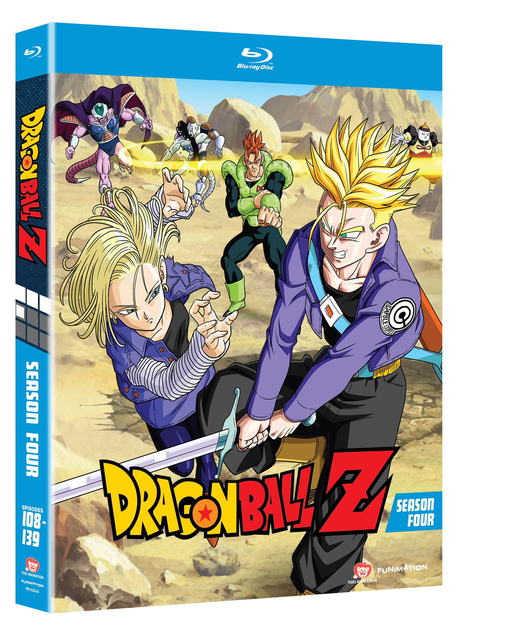 Blu-ray : Dragonball Z: Season 4 (Boxed Set 6 Disc)