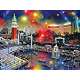 Buffalo Games Las Vegas The Grand View from The Cities in Color Collection Jigsaw Puzzle (750 Piece)