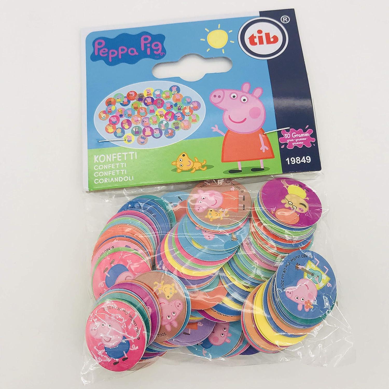 250 Confeti de Peppa Pig como decoración para cumpleaños ...