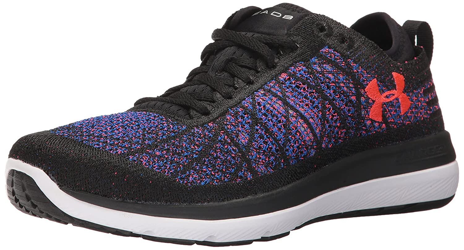 Under Armour Women's Threadborne 7.5 Fortis Running Shoe B01N9GWM6Y 7.5 Threadborne M US|Black (003)/Lapis Blue 50373d