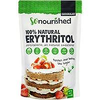 Erythritol Sweetener Granular (1.14 KG / 2.5 lb) - No Calorie Sweetener, Non-GMO, Natural Sugar Substitute (2.5 Pounds)