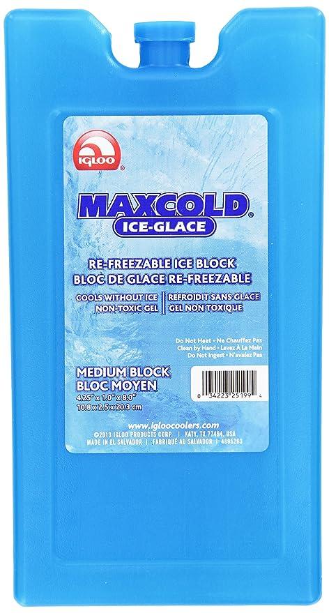 IGLOO Freezer Bloque congelador Azul Talla M: Amazon.es: Deportes ...