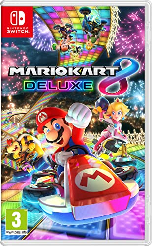 Mario Kart 8 Deluxe - Juego de Nintendo Switch