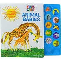 World of Eric Carle, Animal Babies 10-Button Sound Book - PI Kids (Play-A-Sound)