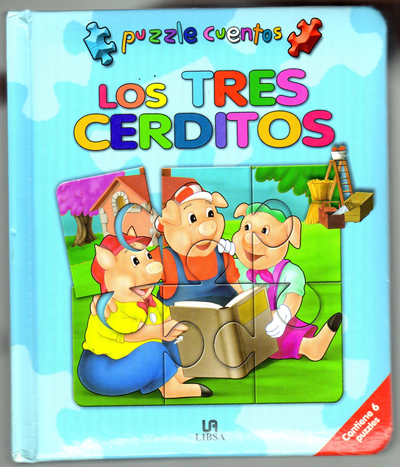 Los tres cerditos/ The Three Little Pigs (Spanish Edition) (Spanish) Hardcover – October 30, 2007