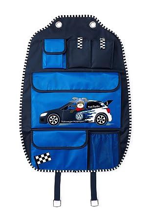 Volkswagen 5da087571 bolsa de almacenamiento Carpeta Ted Turbo, azul oscuro: Amazon.es: Coche y moto