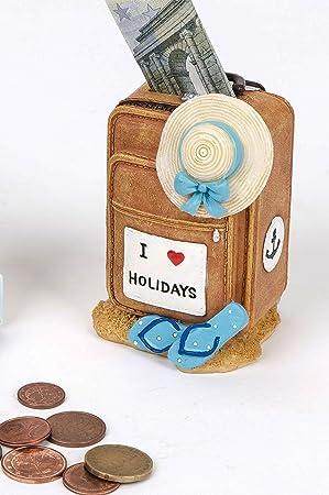 Amazon De Spardose Koffer Trolley Reisekasse Urlaubsgeld Reisegeld