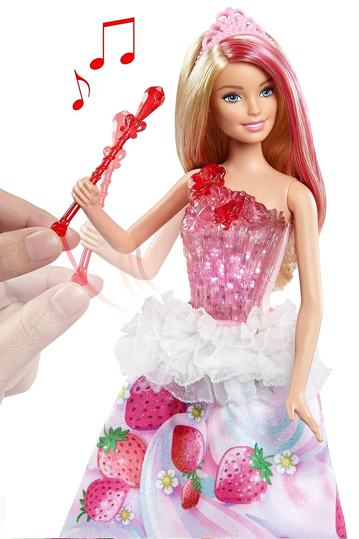 Barbie Muñeca Princesa Dreamtopia Villa Caramelo Luces y Sonidos ...