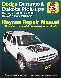 dodge durango dakota 2001 2003 repair manual chilton total car care rh amazon com 2005 dodge durango repair manual on cd 05 Dodge Durango 5.7L