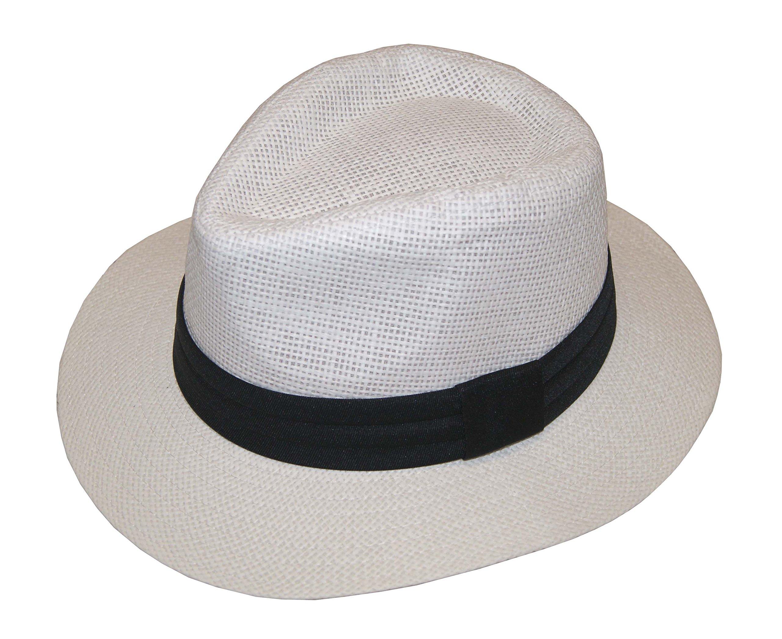 Fashion Man Summer Golf Sun Hat Panama Cap - Brand New