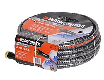 Beautiful Black U0026 Decker BD70277 Medium Duty Garden Hose, 5/8 Inch 75