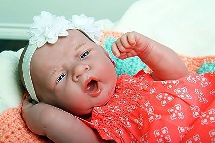 "Baby Real Reborn Doll Preemie Berenguer 15/"" inch Newborn Soft Vinyl Life Like"