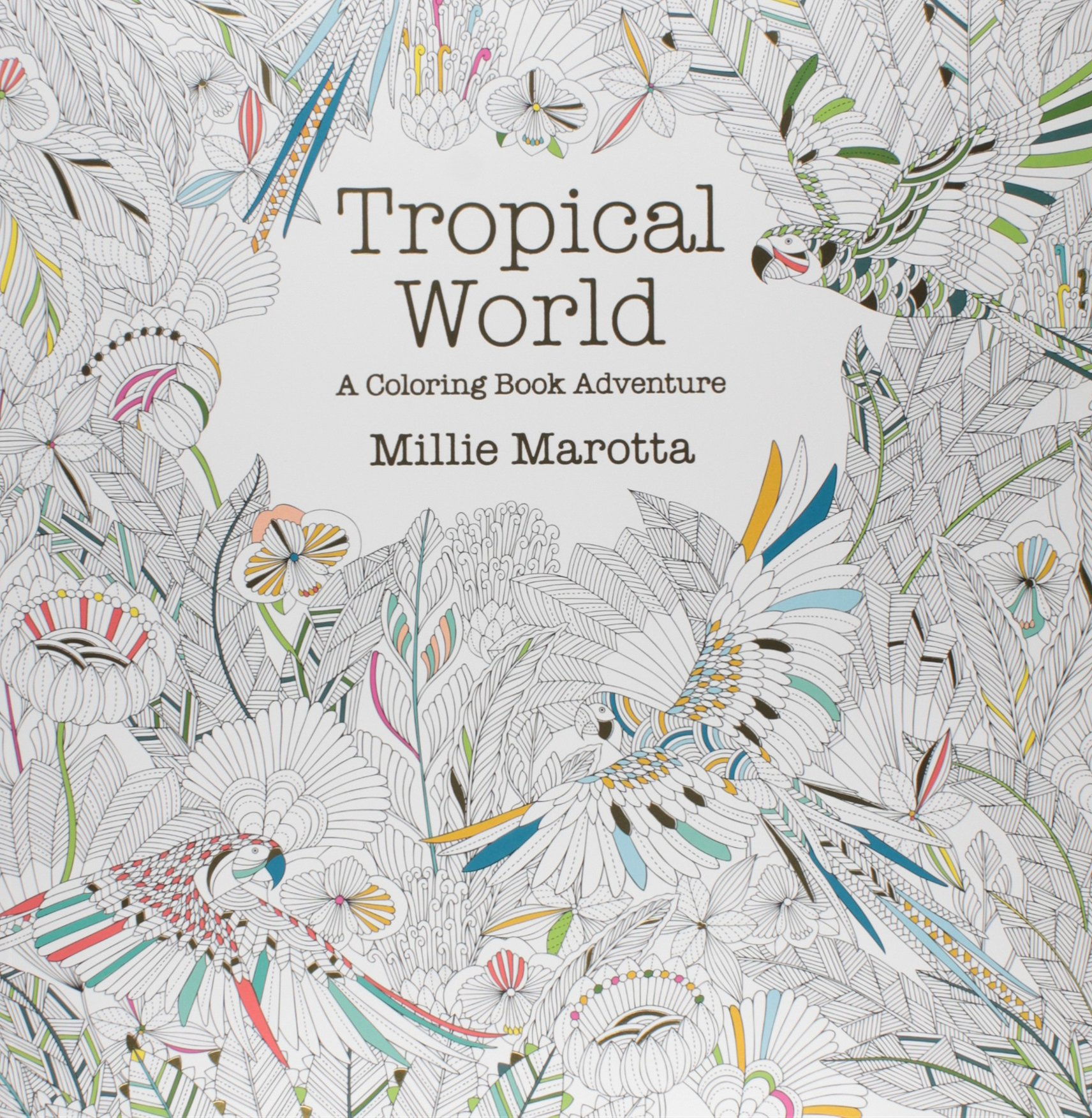The Best Adult Coloring Books Tropical