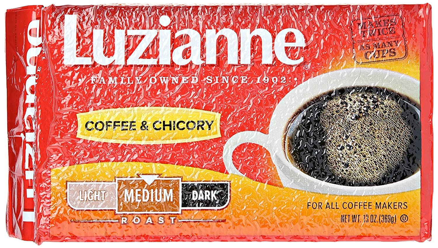 Luzianne Coffee and Chicory, 13 oz