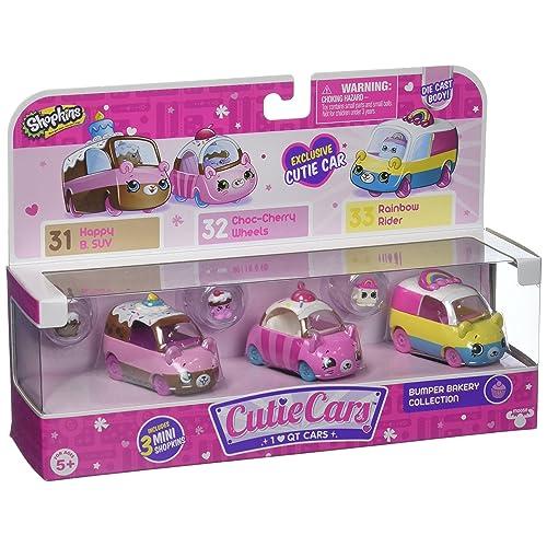 Shopkins Cutie Car Spk Season 1 Bumper Bakery 3 Pack