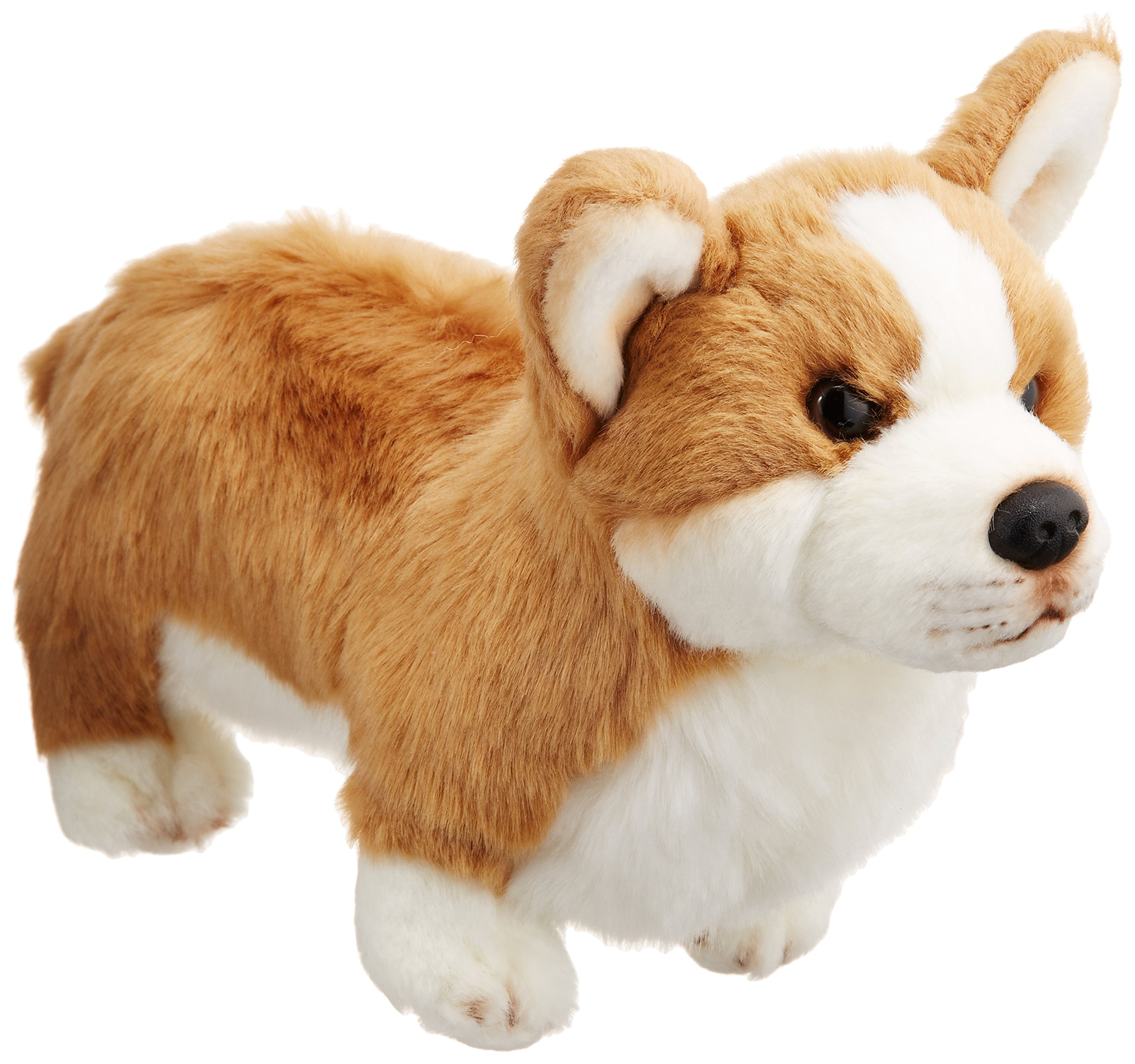 DEMDACO Nat /& Jules Alert Small Husky Dog Childrens Plush Stuffed Animal Toy