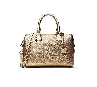 968cc19f32 MICHAEL Michael Kors Mercer Medium Leather Duffle  Handbags  Amazon.com