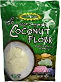 Let's Do Organic Coconut Flour, 16-Ounce Pouches (Pack of 2)