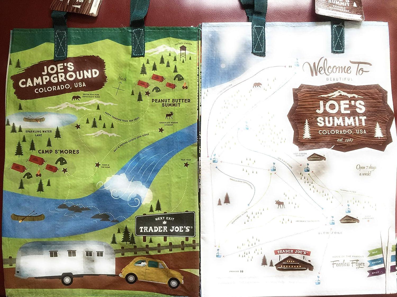 Amazon.com: 2 New Trader Joe\'s bags reusable shopping ...