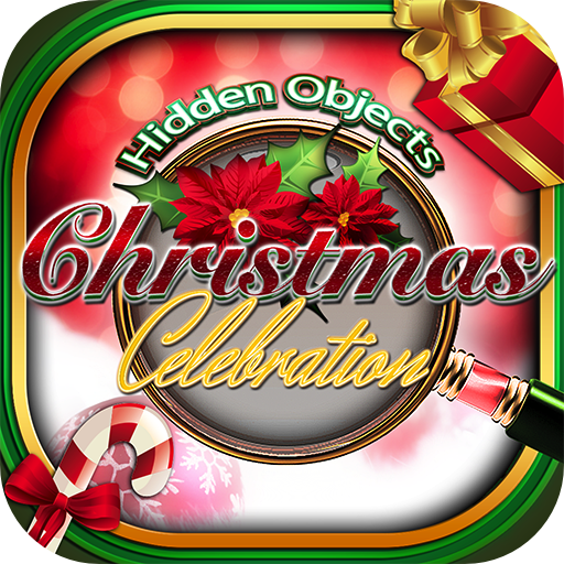 Hidden Objects - Christmas Holiday Celebration & Object Time Puzzle Santa Game -