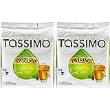 TASSIMO Twinings Thé Vert à la menthe 2 paquets de 16 disques (32 Disc)