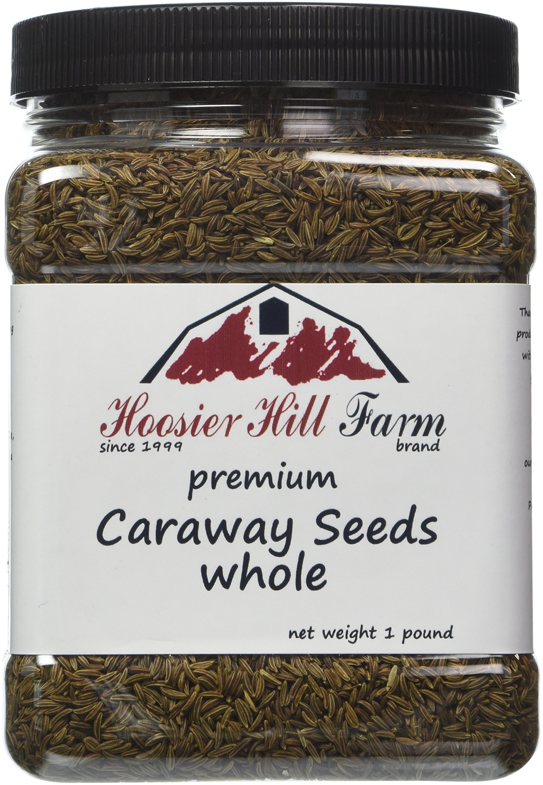 Hoosier Hill Farm Whole Caraway Seeds 1 lb
