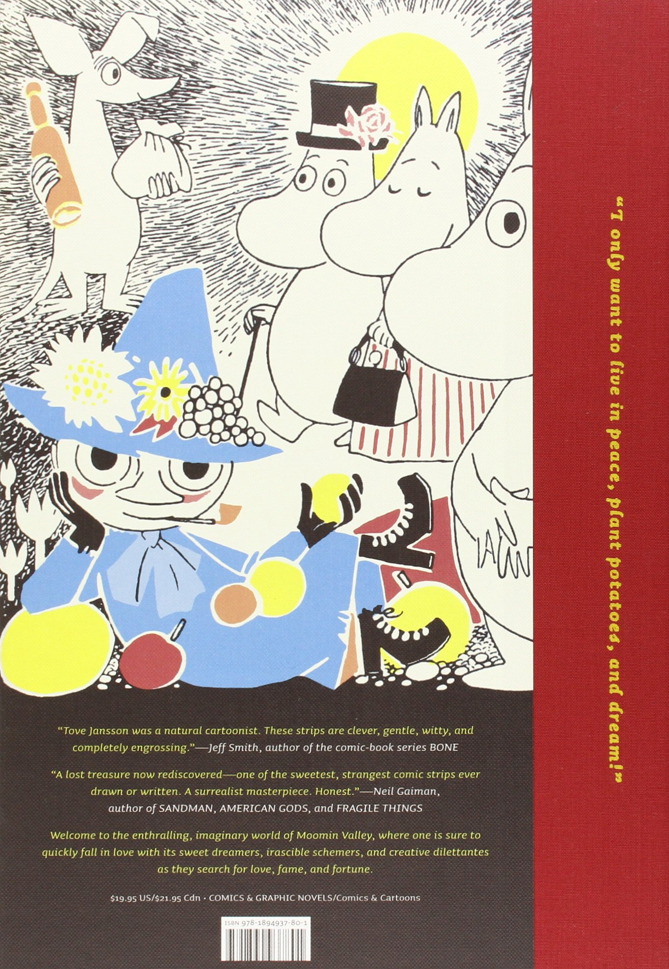 Moomin: The Complete Tove Jansson Comic Strip - Book One: Tove Jansson:  8601200864908: Amazon.com: Books
