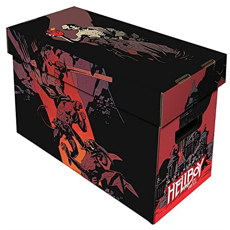 BCW Short Comic Box - Art - Hellboy in Hell [Importación Alemana]