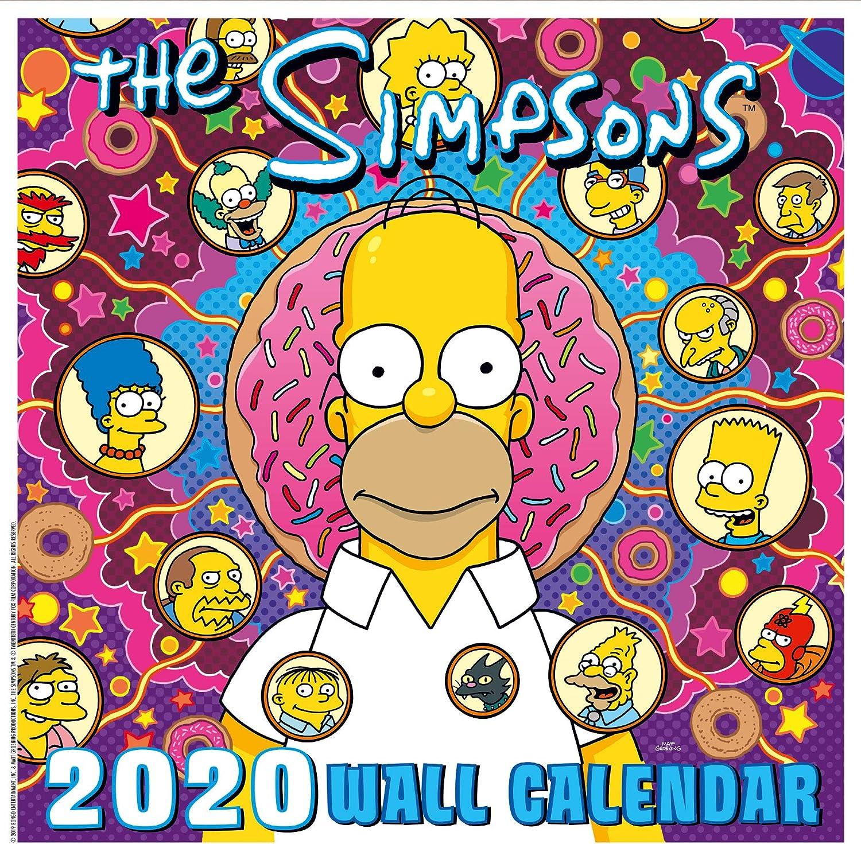 The Simpsons 2020 Calendar - Official Square Wall Format Calendar