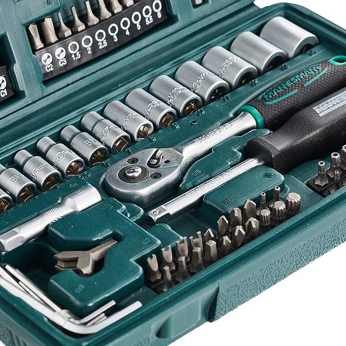 Mannesmann Snap On Socket Set 130 Piece Bit Set Heavy Duty Case Warranty