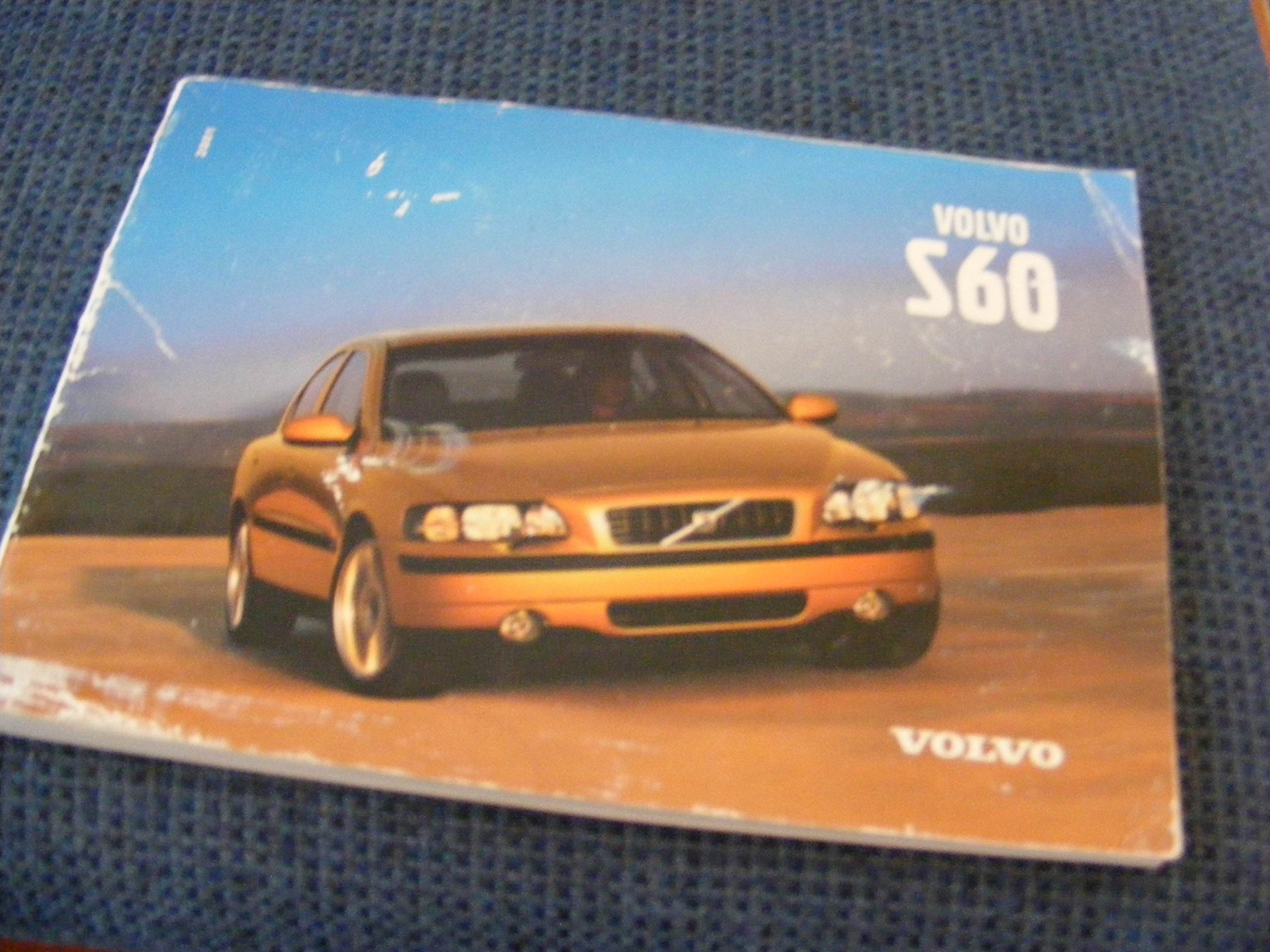 2004 Volvo S60 S 60 Owners Manual Books Wiring Schematic