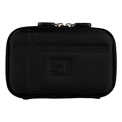 Vangoddy Premium Hard Shell Nylon Black Protective Case for Voice Caddie Swing SC100 and SC200 Swing Caddie: Sports & Outdoors