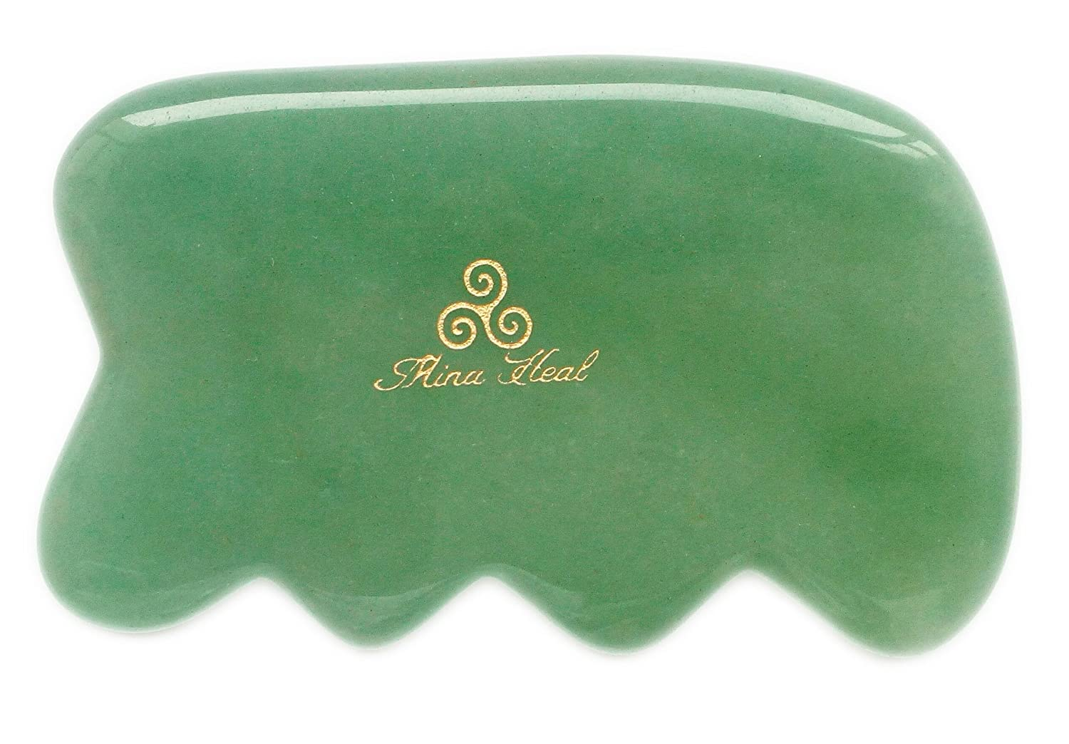 Massage Tool Made of Jade Stone, for Face Lifting, Anti-aging, Anti-wrinkles, Gua Sha Treatment: Amazon.es: Salud y cuidado personal