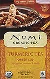 Numi Organic Turmeric Tea Amber Sun - 12 Tea Bags