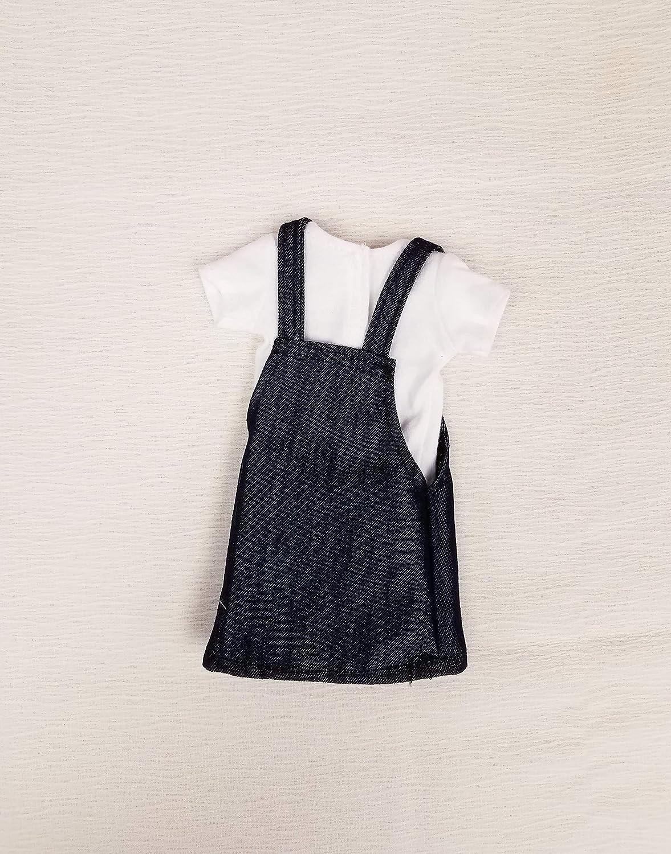 Ariel T-shirt and Denim Jumper Set Fits Wellie Wisher
