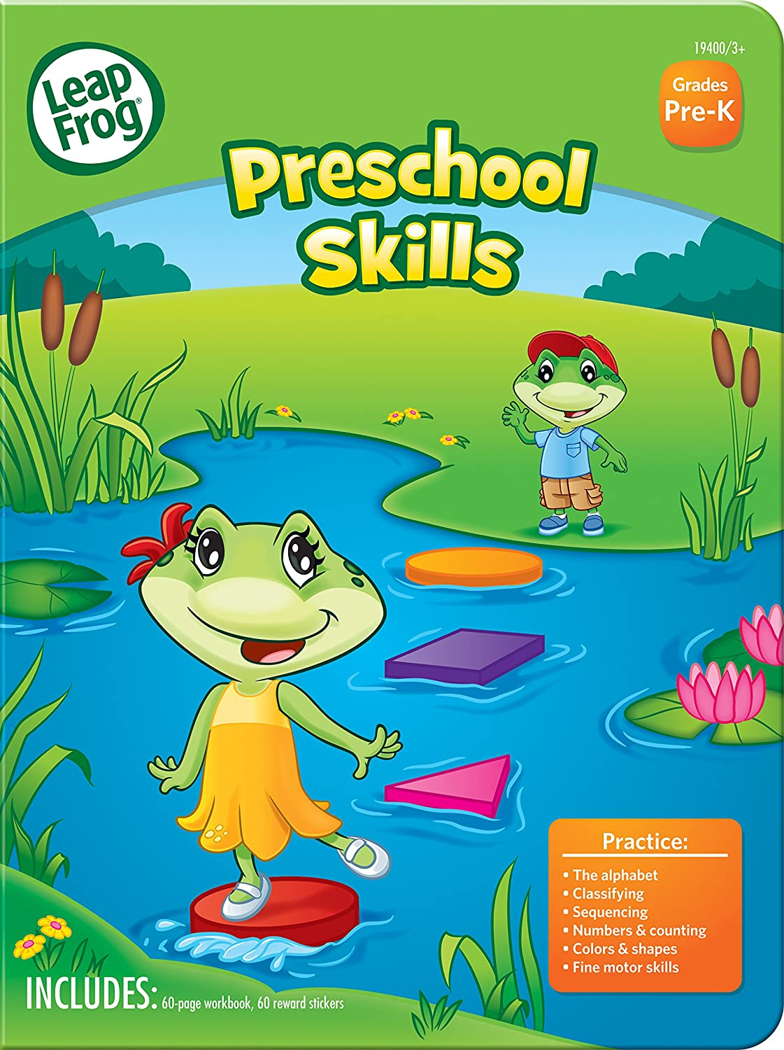 Amazon.com : LeapFrog Preschool Skills Workbook, 60 Pages and 60 ...