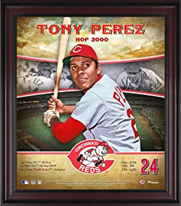 Tony Perez Cincinnati Reds Framed 15