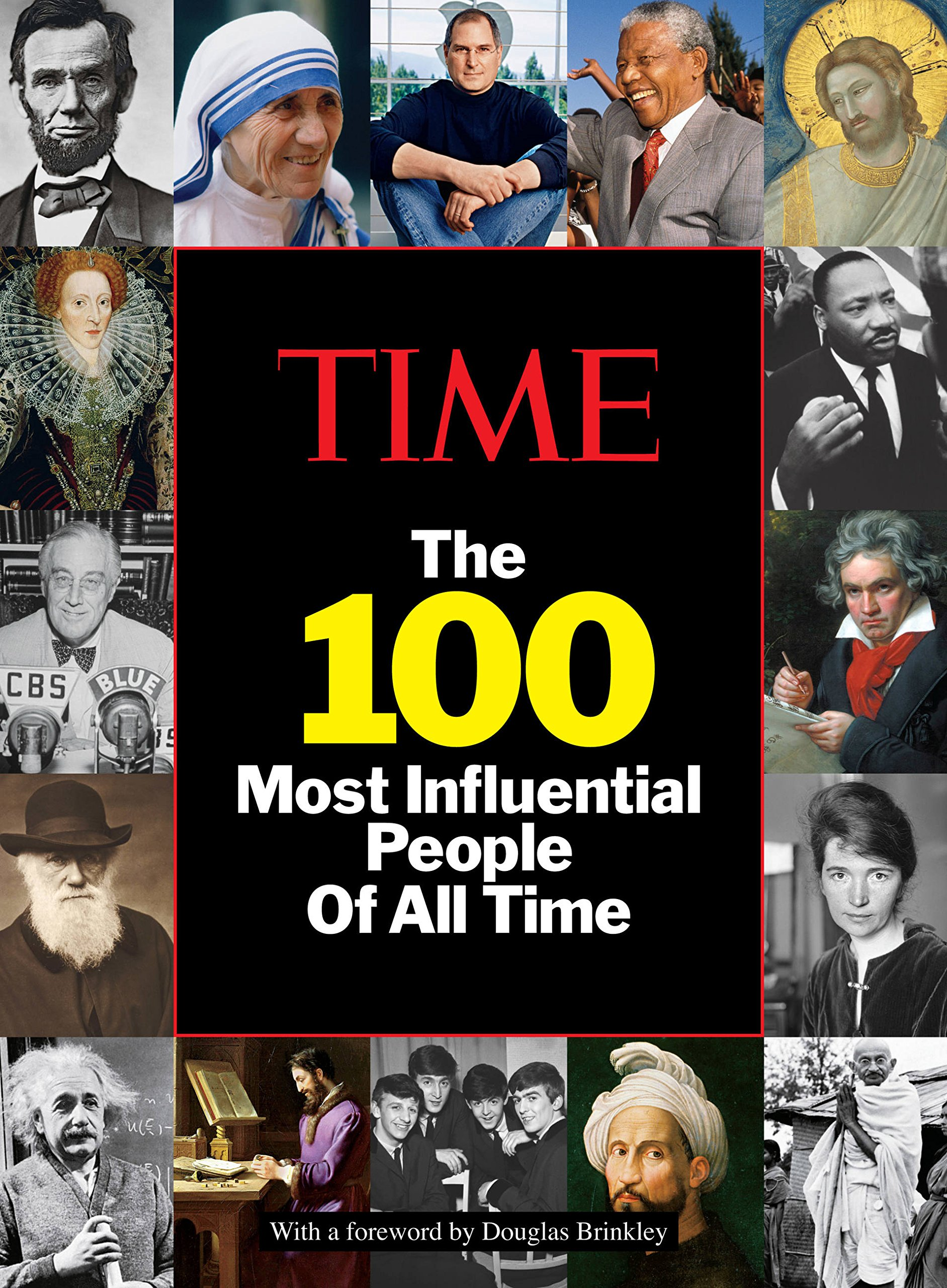 amazon time the 100 most influential people of all time the